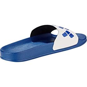 arena Team Stripe Slide Sandalias, blue-white-blue